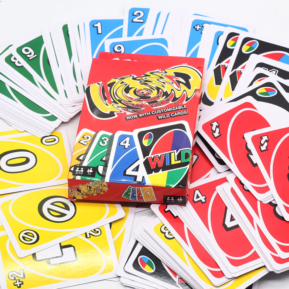 Family Funny Entertainment Board Games For Adults 108Cards Mattel Games UNO Classic Games  Fun Poker Playing Cards Dropshopping