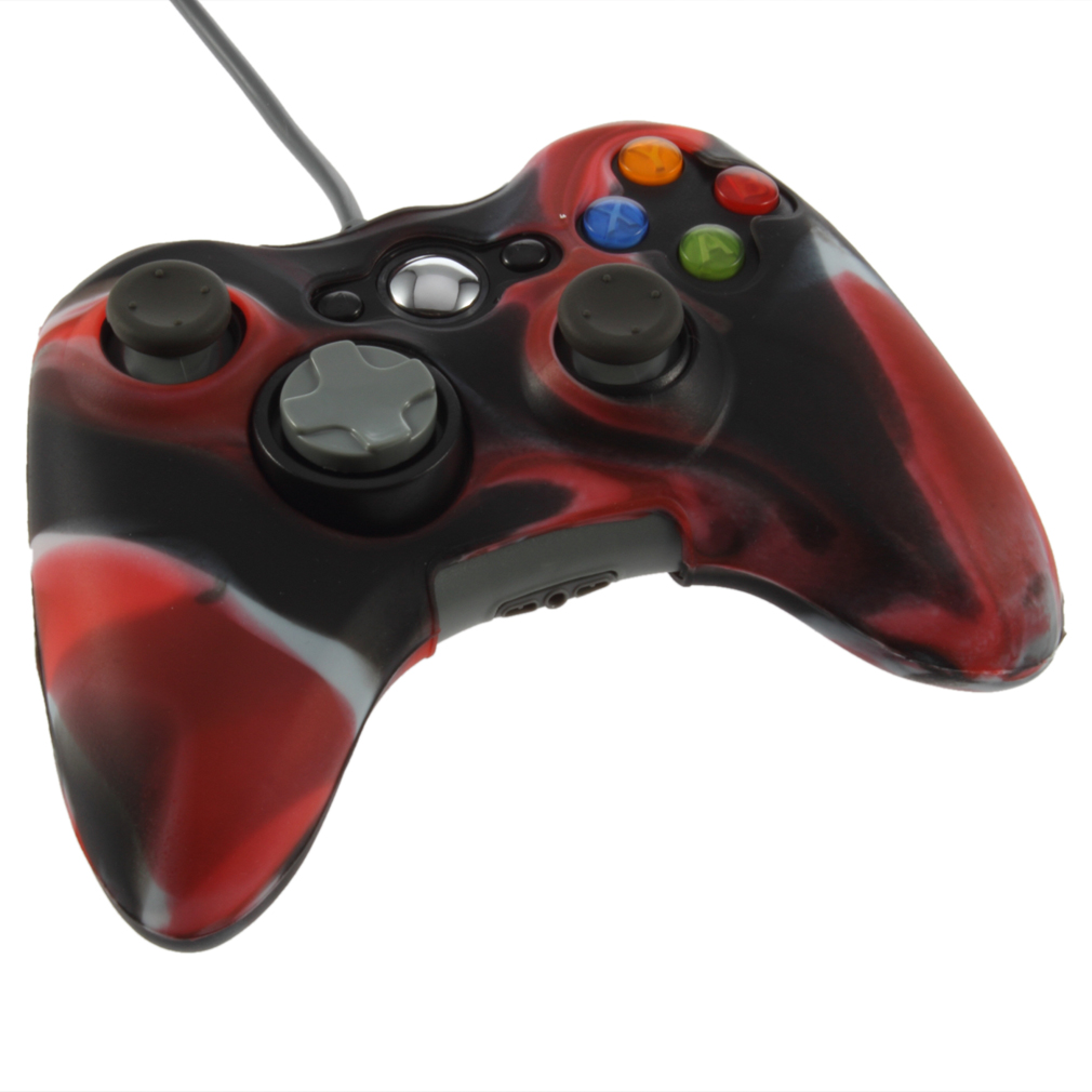 1pcs Soft Silicone Skin Case Cover For Xbox 360 Controller