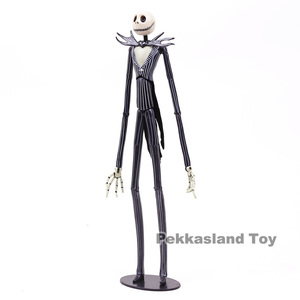 Image 5 - The Nightmare Before Christmas Deluxe Jack Skellington with Interchangeable Heads Action Figure Collectible Model Toy Gift 35cm