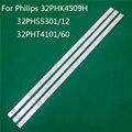 Светодиодный ТВ подсветка для Philips 32PHK4509H 32PHS5301/12 32PHT4101/60 светодиодный бар Подсветка металлических полос линейка GJ-2K15 D2P5 D307-V1 1,1
