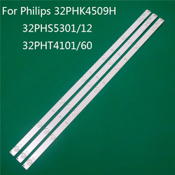 LED TV ความสว่างสำหรับ Philips 32PHK4509H 32PHS5301/12 32PHT4101/60 LED แบ็คไลท์สายไม้บรรทัด GJ-2K15 D2P5 d307-V1 1.1