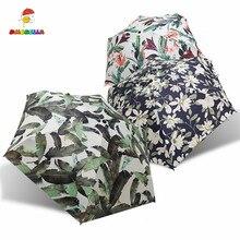 DMBRELLA Folding Mini Umbrella Pocket Protable Lightweight Travel Rain Women Waterproof UV Protective DM132