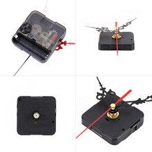 Diy relógio de parede relógio de quartzo mecanismo movimento silencioso operação da bateria ferramenta manutenção componentes acessórios essenciais