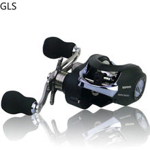 Fishing Reel 6.3: 1 Rasio Gear 17   1BB Bantalan Rem Magnetik Kiri/Kanan Tangan Umpan Casting Memancing Reel