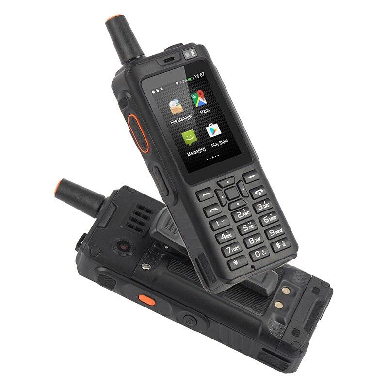 Ударопрочный мобильный телефон 4000 мАч Zello Walkie Talkie 4G gps прочный смартфон Android 6,0 quad core Dual SIM F40 мобильный телефон - 3