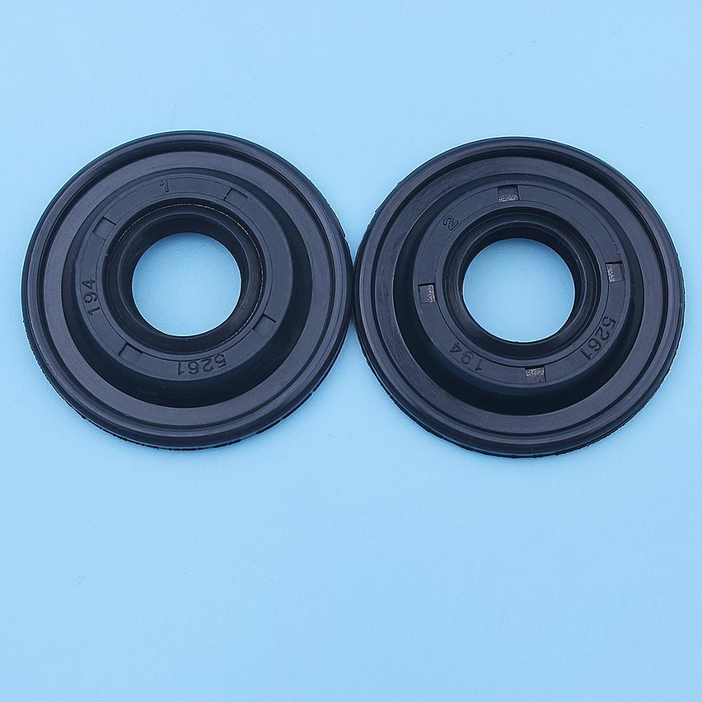 Crank Oil Seal Set For Husqvarna 128R 125R 124R 128RJ 125RJ 125E 125C 128C 124C 125LDX 128DJX 128L 128LDX Trimmer Brushcutter