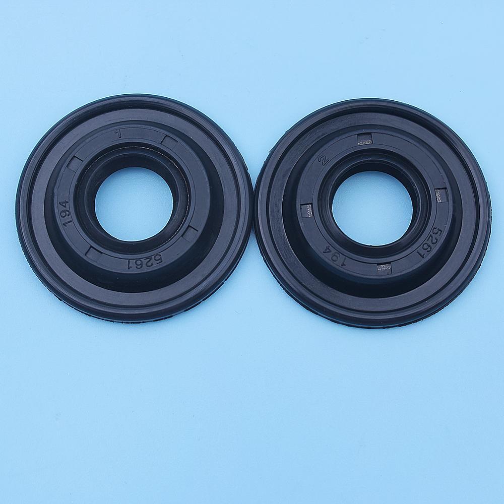 Crank Oil Seal Set For Husqvarna 128R 125R 124R 128RJ 125RJ 125E 125C 128C 124C 125LDX 128DJX 128L 128LDX Trimmer Brushcutter