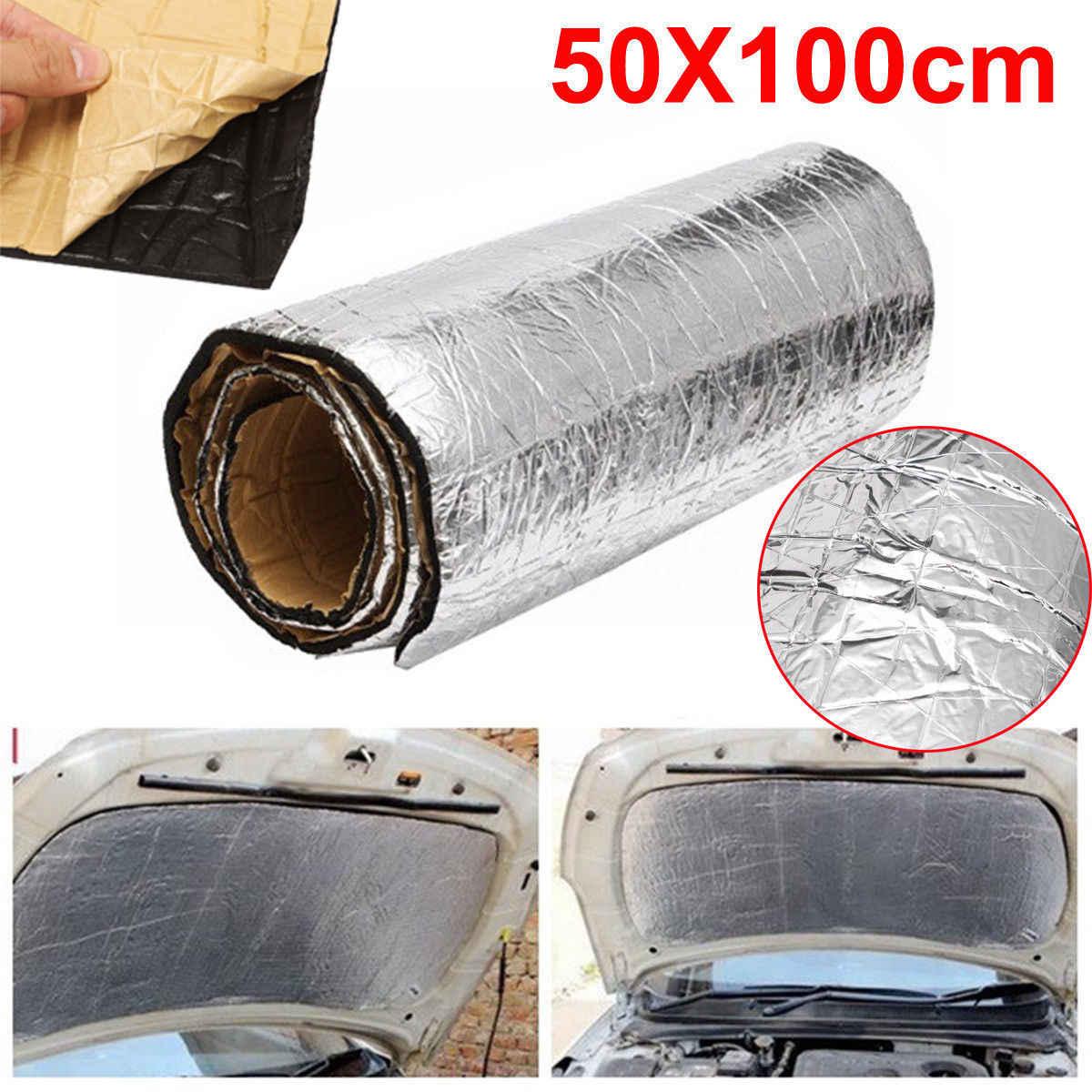 50*100*5 Mmroll Mobil Kedap Suara Mematikan Motor Van Isolasi Tertutup Busa