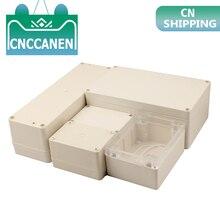 1 шт. ABS высокого класса водонепроницаемый пластиковый корпус коробка электронный проект инструмент Чехол Открытый распределительный DIY коробка