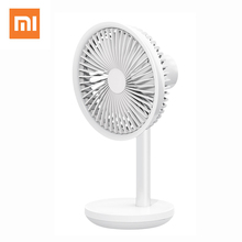 Xiaomi Solove F5 Desktop Fan Left And Right 60° Shaking Head 4000mAh Battery Capacity USB Charging 3 Modes Wind Speed Portable