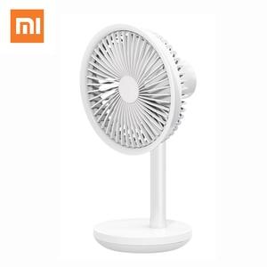 Image 1 - Xiaomi Solove F5 ventilateur de bureau gauche et droite 60 ° tête tremblante 4000mAh capacité de la batterie USB charge 3 Modes vitesse du vent Portable