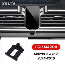 Автомобильный мобильный телефон держатель для mazda 3 axela