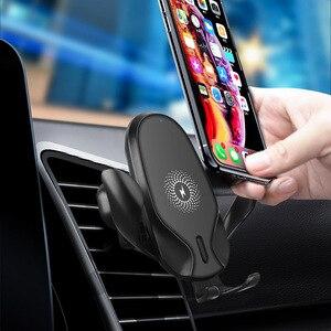 Image 5 - FDGAO 15W rapide Qi chargeur de voiture sans fil pour iPhone 11 Pro XS XR X 8 Samsung S10 S9 Note 10 Charge rapide support pour téléphone de voiture