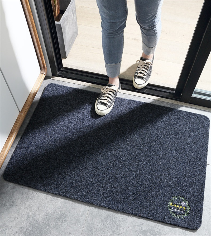 Scrape Door Mats Outdoor Dust Proof Anti Slip Indoor Doormat for Entrance Front Door Carpet Floor Mat Dirt Trapper Entrance Rug image