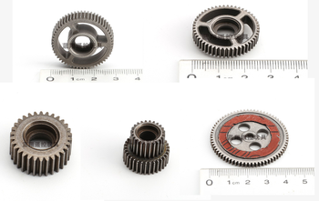 WLtoys K949 10428 Rc Car Upgrade Parts Metal Gearbox Gear + Original Gear