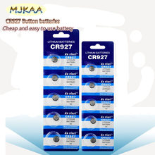 10 PCS/MJKAA CR927 Batteria a Bottone CR 927 Al Litio Dl927 Ecr927 5011 L Br927 Lm927 5011 Lc Kcr927 Orologio batteria(China)