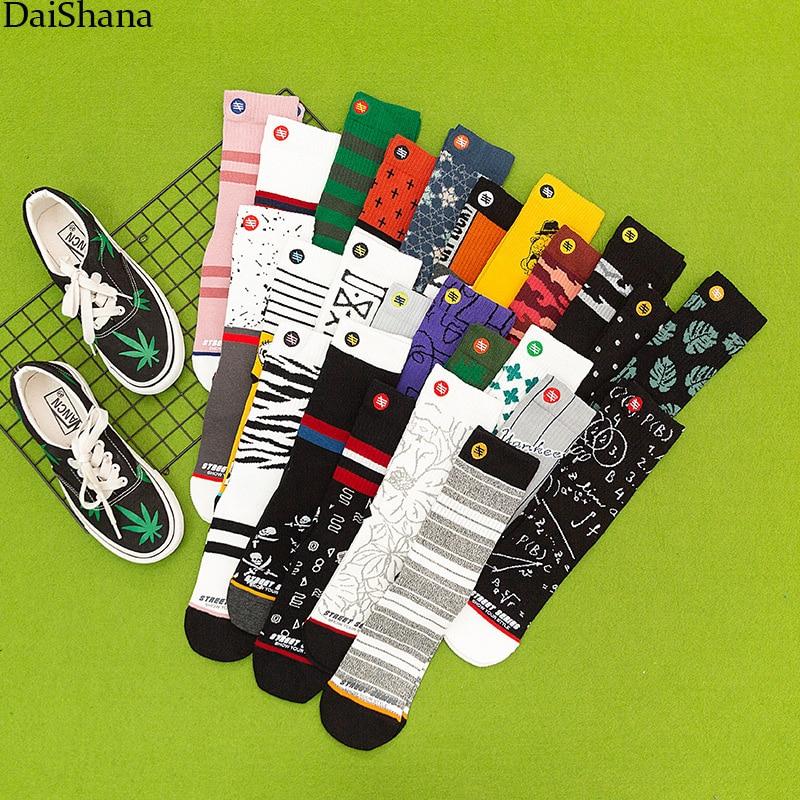 3 пары, женские хлопковые носки в Корейском стиле