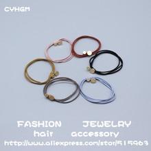 CYHGM girls women hair accessories scrunchies  diademas para el pelo mujer pince cheveux femme elastic bands c243