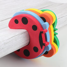 5pc/lot Baby Safety Protection Cartoon Animal Shape Door Blocker For Kids Finger Protectors Door Clamp Pinch(China)