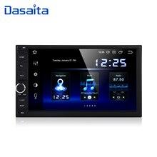 """داسايتا 2 الدين أندرويد 10.0 AutoRadio 7 """"العالمي سيارة لا تحديد مواقع لمشغل أقراص دي في دي ستيريو الصوت رئيس وحدة دعم DAB DVR OBD"""