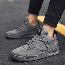 Zapatos de hombre zapatillas clásicas de cuero de corte bajo informales cómodas caminar gruesas zapatillas Lac-up deporte plano Masculino