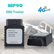 Plug-Connector Gps-Tracker LTE-MP90 Alarm Real-Time Car 4G Geo-Fence Easy-Install Free-Web-App