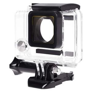 Image 4 - Funda carcasa deporte al aire libre Cámara impermeable caja protectora subacuática para GoPro Hero 4/3 +