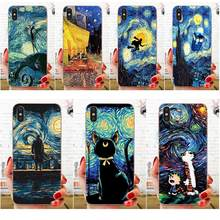 TPU Cover Cases For Huawei Nova 2 V20 Y3II Y5 Y5II Y6 Y6II Y7 Y9 G8 G9 GR3 GR5 GX8 Prime 2018 2019 Print Starry Night(China)