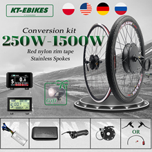 Ebike-Kit Hub-Motor Wheel Electric Bicycle Brushless-Gear 48v 1500w 1000W 750W 36v 250w