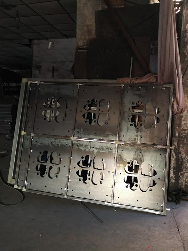 Shanghai Hench Brand China Factory 100% Custom Made Sale Australia Modern Iron Doors
