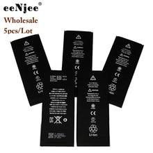 EENJEE 5Pcs Original Quality Batteries For Apple IPhone 5G 5S SE 6G 6Plus 6SPlus 7G 7Plus 8G 8Plus X XS XR 11 11PRO Max 12 SE2