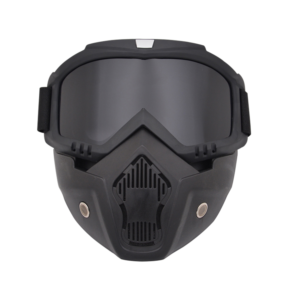 2019 Outdoor Anti-fog Airsoft Mask Protective Full Face Helmet Paintball Mask Airsoft Safety Goggle Protective Tactical Mask