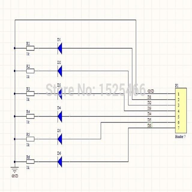 2pcs 3-12V Green LED Module Board for MCU Expansion Breadboard Zigbee CC2530 NRF24LE1 STM8 Xilinx Altera Lattice Actel FPGA CPLD