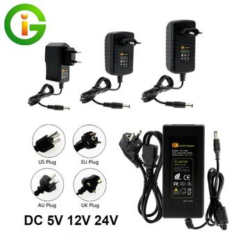 DC5V 12V 24V LED Power Supply 1A 2A 3A 5A 6A 8A 10A AC100-240V Lighting Transformers Power Adapter Converter for LED Strip Light 10piece lot ip67 12v 12 5a 150w ac100 240v input electronic waterproof led power supply led adapter 12v 150w free fedex