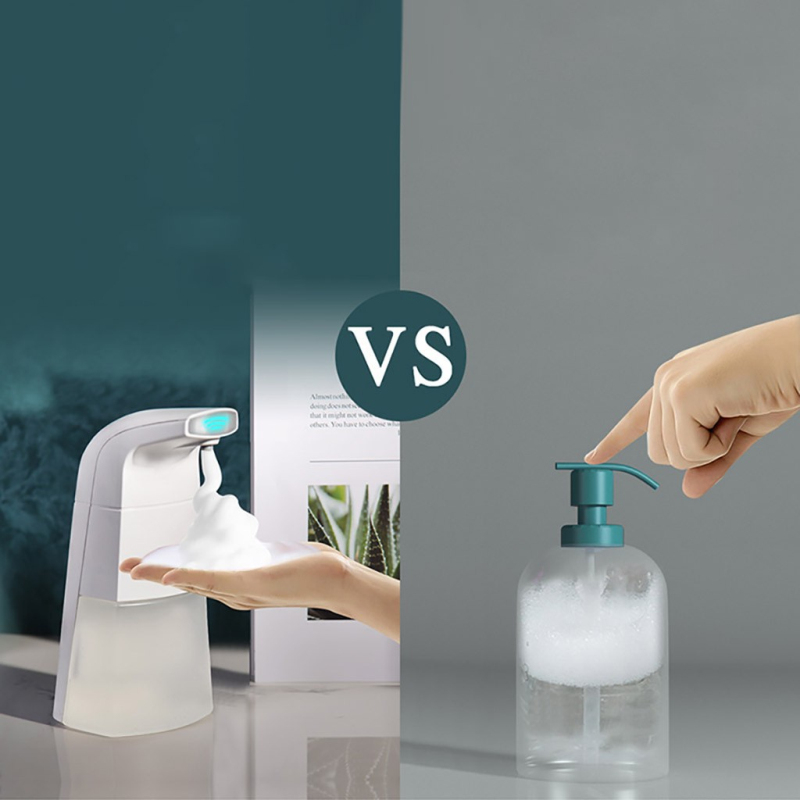 H4c843cb0a179428b967956bd18be2888i Automatic Waterproof Foam Liquid automatic soap dispenser wall Infrared Sensor Touchless Hand Washer soap dispenser Dropshipping