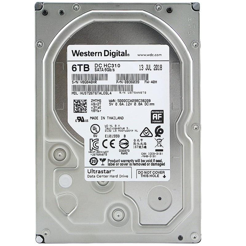 WD/Western Data HUS726T6TALE6L4 7200 To 256M 6t Enterprise Hard Disk