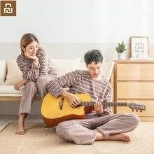Novo Xiaomi Mijia Youpin COMO VIVAS da pele quente de veludo quente e confortável casa de serviço definido para casal