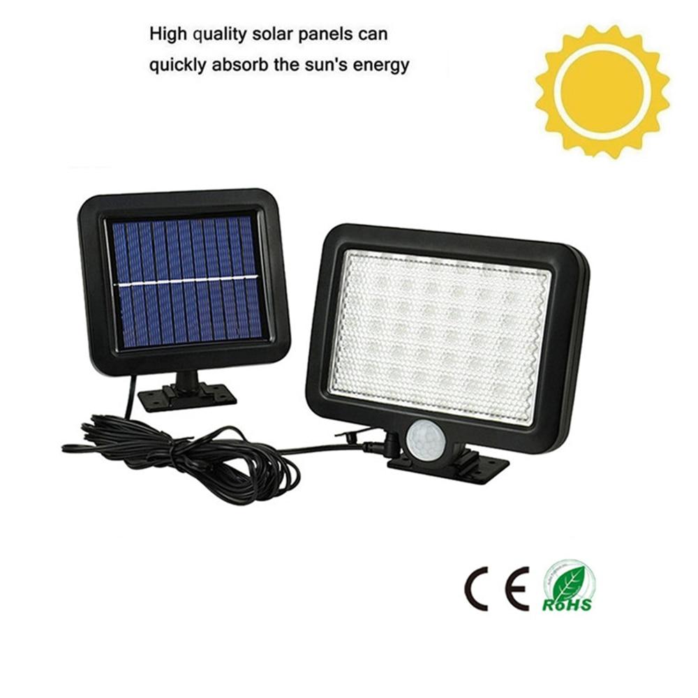 56/30 Degree Radar Sensor Led Solar Lamp Dark Light Auto On Smart Night Light Motion Detector High Sensitivity Outdoor Lighting