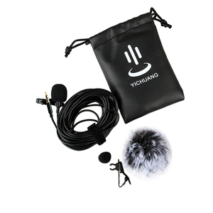 Image 5 - YC LM20 3,5mm Omni directional Clip auf Lavalier mikrofon Mic Kabel Länge 6M für Smartphone Tablet Laptop & camcorder DV DSLR
