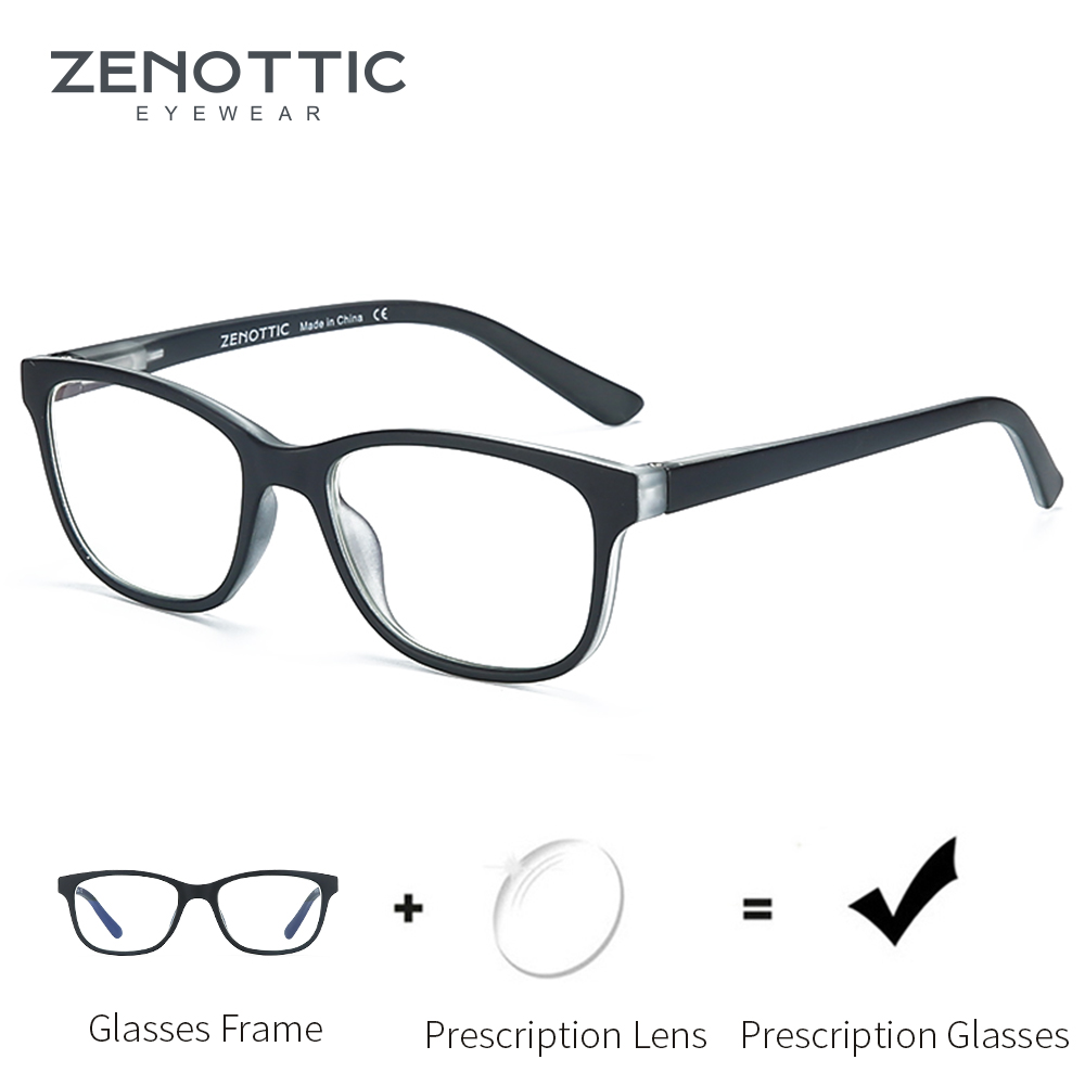 ZENOTTIC Children Eyewear Glasses Girls Clear Lenses For Blue Light Blocking Boys Eyeglasses Protection Computer Glasses BT5201