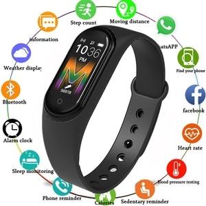 M5 Fitness Sleep Heart Rate Blood Pressure Monitor Smartwatch 2020 Sport Smart Bracelet High Resolution Screen Wristband
