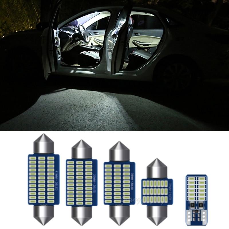 Светодиодный внутренняя Лицензия плиты лампы светильник комплект Canbus интерьерная лампа светильник s комплект VW Polo 6R 6C 9N 9N3 6N 6N1 6N2 1994-2017