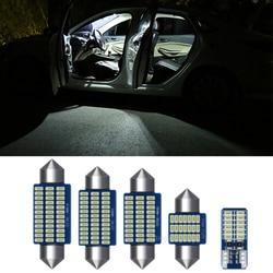 LED Interior License Plate Bulbs Light  Kit Canbus Interior Lamp Lights Kit VW for Polo 6R 6C 9N 9N3 6N 6N1 6N2 1994-2017