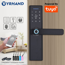 Tuya Biometric Fingerprint Lock, Security Intelligent Smart Lock With WiFi APP Password RFID Unlock,Door Lock Electronic Hotels(China)