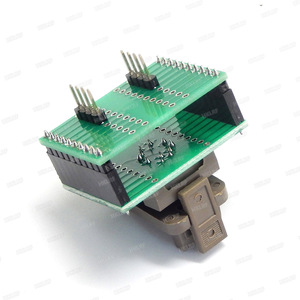 Image 2 - QFN8 to DIP8 Programmer Adapter WSON8 DFN8 MLF8 to DIP8 socket for 25xxx 5x6mm Pitch=1.27mm