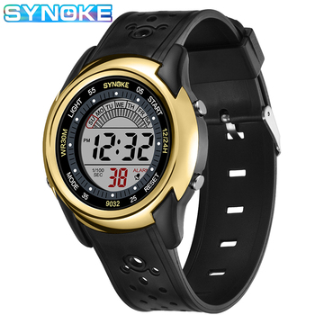 SYNOKE Children Sports Watch Luminous Calendar Alarm Multifunctional Kids 30M Waterproof Watches Simple Student Electronic Watch