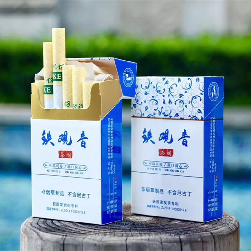 Oolong Tea Herbal Smoke Black Tea Fine Cigarette To Quit Smoking 100% Tobacco Free -100% Nicotine Free