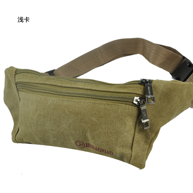 [Factory Price] Outdoor Men And Women Chest Pack Sports Mobile Phone Bag Light And Tight Travel Canvas Waist Pack Y0221