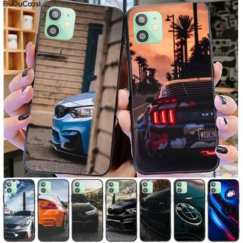 Sports Car Design Bmw black Phone Case Hull for iphone 11 Pro11 Pro Max X XS XR XS MAX 8plus 7 6splus 5s se 7plus case image