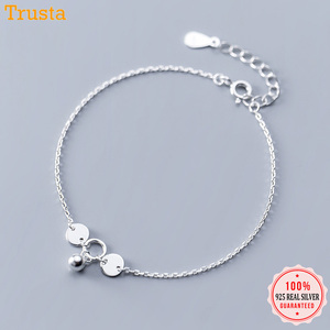 Trustdavis 100% 925 Solid Real